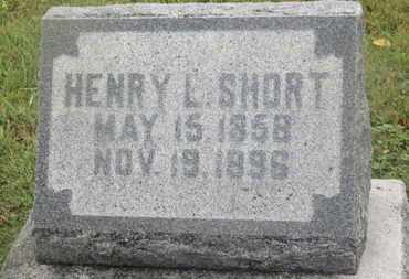 SHORT, HENRY L. - Marion County, Ohio | HENRY L. SHORT - Ohio Gravestone Photos