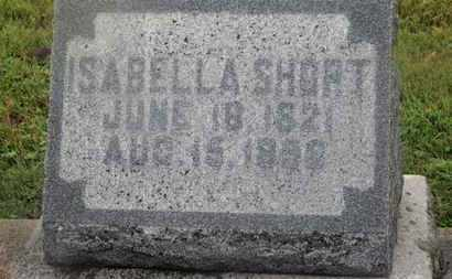 SHORT, ISABELLA - Marion County, Ohio | ISABELLA SHORT - Ohio Gravestone Photos