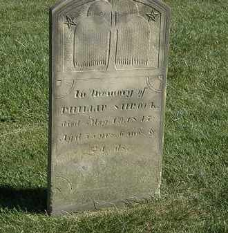 SHROCK, PHILLIP - Marion County, Ohio | PHILLIP SHROCK - Ohio Gravestone Photos