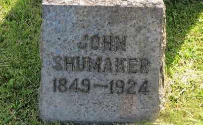 SHUMAKER, JOHN - Marion County, Ohio | JOHN SHUMAKER - Ohio Gravestone Photos