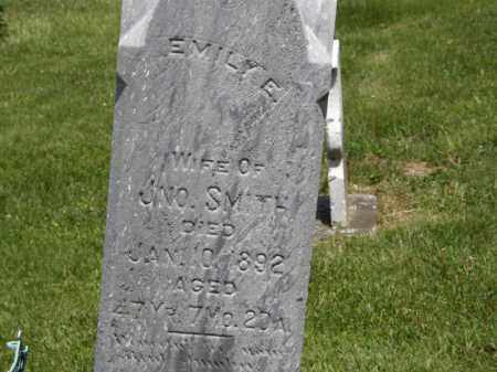 SMITH, EMILY E. - Marion County, Ohio | EMILY E. SMITH - Ohio Gravestone Photos