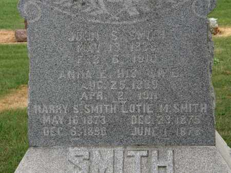 SMITH, ANNA E. - Marion County, Ohio | ANNA E. SMITH - Ohio Gravestone Photos