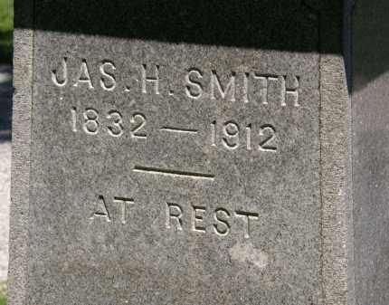 SMITH, JAS. H. - Marion County, Ohio | JAS. H. SMITH - Ohio Gravestone Photos