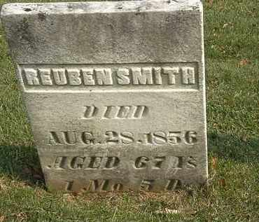 SMITH, REUBEN - Marion County, Ohio | REUBEN SMITH - Ohio Gravestone Photos