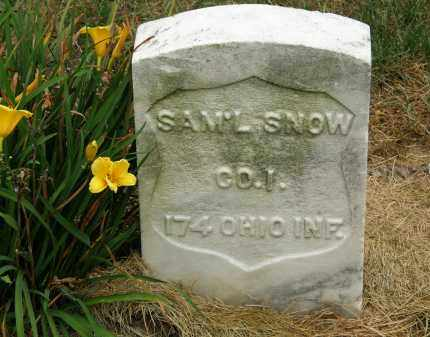 SNOW, SAM'L - Marion County, Ohio | SAM'L SNOW - Ohio Gravestone Photos