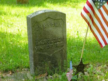 SOLDIER, UNKNOWN - Marion County, Ohio | UNKNOWN SOLDIER - Ohio Gravestone Photos