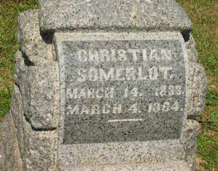 SOMERLOT, CHRISTIAN - Marion County, Ohio | CHRISTIAN SOMERLOT - Ohio Gravestone Photos