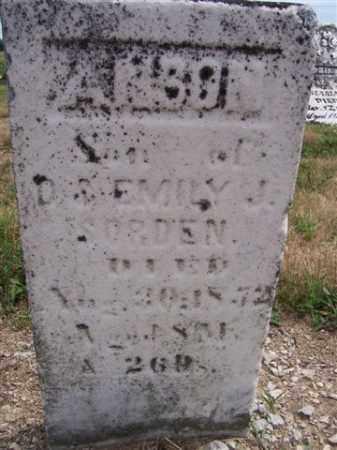 SORDEN, ANSON - Marion County, Ohio | ANSON SORDEN - Ohio Gravestone Photos