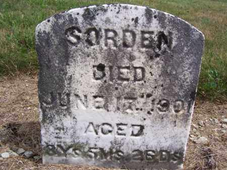 SORDEN, MILLIE - Marion County, Ohio | MILLIE SORDEN - Ohio Gravestone Photos