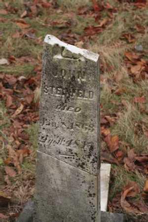 STEINFELD, JOHN - Marion County, Ohio | JOHN STEINFELD - Ohio Gravestone Photos