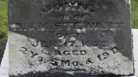 STEWART, JOHN - Marion County, Ohio | JOHN STEWART - Ohio Gravestone Photos
