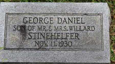 STINEHELFER, GEORGE DANIEL - Marion County, Ohio | GEORGE DANIEL STINEHELFER - Ohio Gravestone Photos