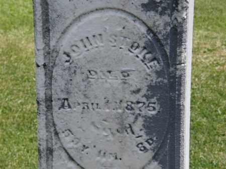STOKE, JOHN - Marion County, Ohio | JOHN STOKE - Ohio Gravestone Photos