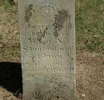 STOUTENBURGH, MARY A. - Marion County, Ohio | MARY A. STOUTENBURGH - Ohio Gravestone Photos