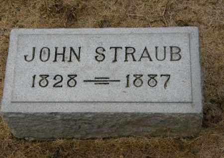 STRAUB, JOHN - Marion County, Ohio | JOHN STRAUB - Ohio Gravestone Photos