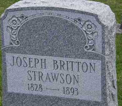 STRAWSON, JOSEPH BRITTON - Marion County, Ohio | JOSEPH BRITTON STRAWSON - Ohio Gravestone Photos