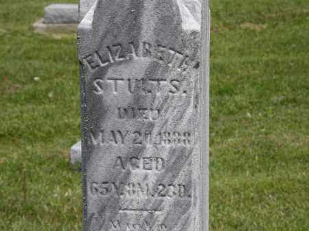 STULTS, ELIZABETH - Marion County, Ohio | ELIZABETH STULTS - Ohio Gravestone Photos