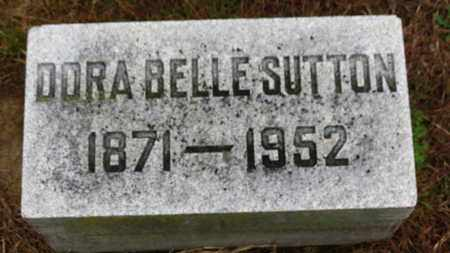 SUTTON, DORA BELLE - Marion County, Ohio | DORA BELLE SUTTON - Ohio Gravestone Photos