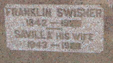 SWISHER, FRANKLIN - Marion County, Ohio | FRANKLIN SWISHER - Ohio Gravestone Photos