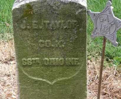 TAYLOR, J.S. - Marion County, Ohio | J.S. TAYLOR - Ohio Gravestone Photos