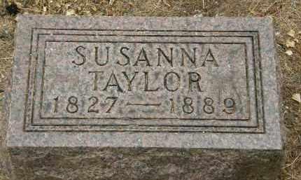 TAYLOR, SUSANNA - Marion County, Ohio | SUSANNA TAYLOR - Ohio Gravestone Photos