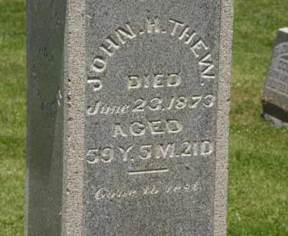 THEW, JOHN H. - Marion County, Ohio | JOHN H. THEW - Ohio Gravestone Photos