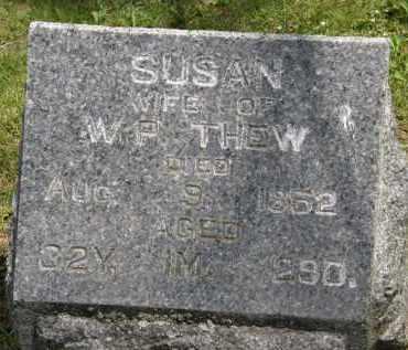 THEW, SUSAN - Marion County, Ohio | SUSAN THEW - Ohio Gravestone Photos