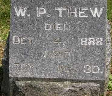 THEW, W. P. - Marion County, Ohio | W. P. THEW - Ohio Gravestone Photos