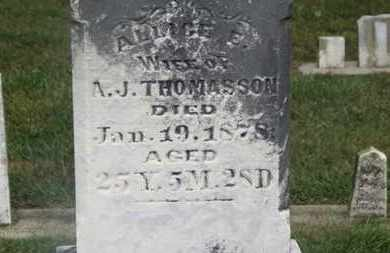 THOMASSON, ALICE E. - Marion County, Ohio | ALICE E. THOMASSON - Ohio Gravestone Photos
