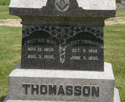 THOMASSON, ALBERET - Marion County, Ohio | ALBERET THOMASSON - Ohio Gravestone Photos
