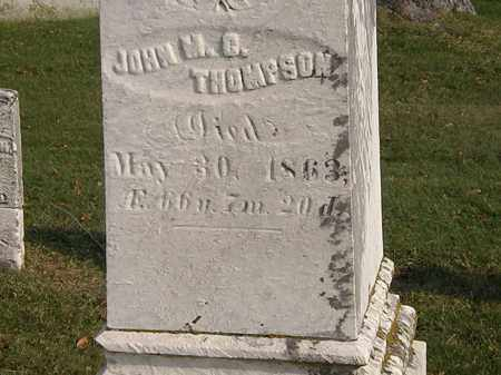 THOMPSON, JOHN M. C. - Marion County, Ohio | JOHN M. C. THOMPSON - Ohio Gravestone Photos