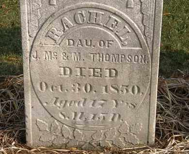 THOMPSON, RACHEL - Marion County, Ohio | RACHEL THOMPSON - Ohio Gravestone Photos