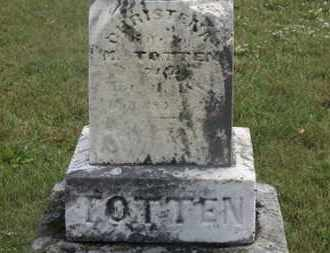 TOTTEN, CHRISTENA - Marion County, Ohio | CHRISTENA TOTTEN - Ohio Gravestone Photos