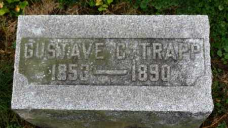 TRAPP, GUSTAVE C. - Marion County, Ohio | GUSTAVE C. TRAPP - Ohio Gravestone Photos