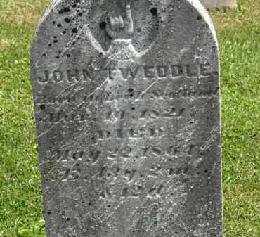 TWEDDLE, JOHN - Marion County, Ohio | JOHN TWEDDLE - Ohio Gravestone Photos