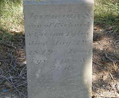 TYLER, JEREMIAH S. - Marion County, Ohio | JEREMIAH S. TYLER - Ohio Gravestone Photos