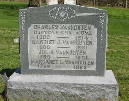 VANHOUTEN, HARRIET J. - Marion County, Ohio | HARRIET J. VANHOUTEN - Ohio Gravestone Photos