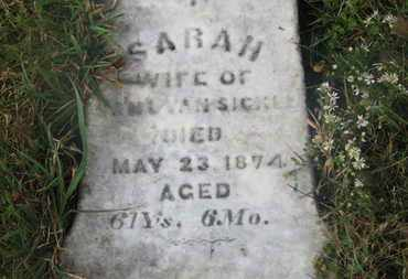 VANSICKLE, SAML. - Marion County, Ohio | SAML. VANSICKLE - Ohio Gravestone Photos
