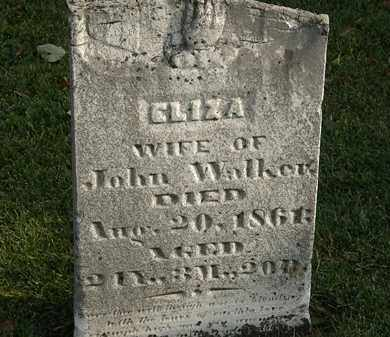 WALKER, ELIZA - Marion County, Ohio | ELIZA WALKER - Ohio Gravestone Photos
