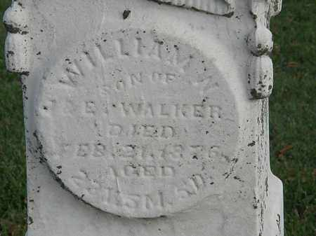 WALKER, WILLIAM W. - Marion County, Ohio | WILLIAM W. WALKER - Ohio Gravestone Photos