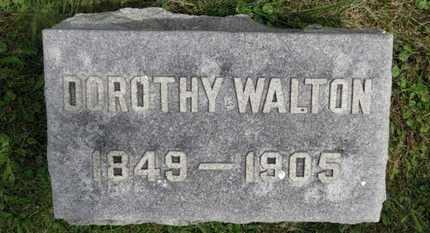 WALTON, DOROTHY - Marion County, Ohio | DOROTHY WALTON - Ohio Gravestone Photos