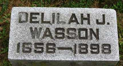 WASSON, DELILAH J. - Marion County, Ohio | DELILAH J. WASSON - Ohio Gravestone Photos