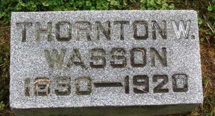 WASSON, THORTON W. - Marion County, Ohio | THORTON W. WASSON - Ohio Gravestone Photos