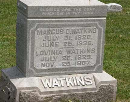 WATKINS, MARCUS O. - Marion County, Ohio | MARCUS O. WATKINS - Ohio Gravestone Photos