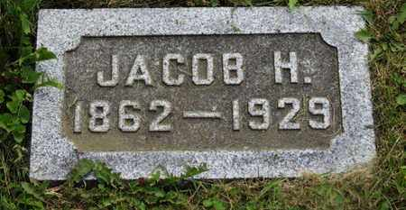 WEIDEMAIER, JACOB H. - Marion County, Ohio | JACOB H. WEIDEMAIER - Ohio Gravestone Photos