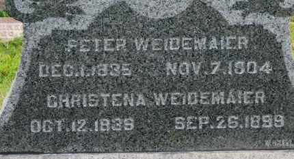 WEIDEMAIER, PETER - Marion County, Ohio | PETER WEIDEMAIER - Ohio Gravestone Photos