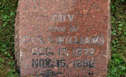 WILLIAMS, GUY - Marion County, Ohio | GUY WILLIAMS - Ohio Gravestone Photos