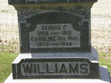 WILLIAMS, CAROLINE - Marion County, Ohio | CAROLINE WILLIAMS - Ohio Gravestone Photos