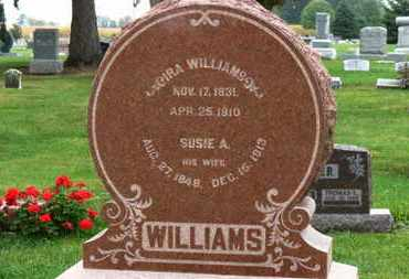 WILLIAMS, SUSIE A. - Marion County, Ohio | SUSIE A. WILLIAMS - Ohio Gravestone Photos