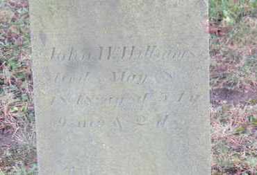 WILLIAMS, JOHN W. - Marion County, Ohio | JOHN W. WILLIAMS - Ohio Gravestone Photos